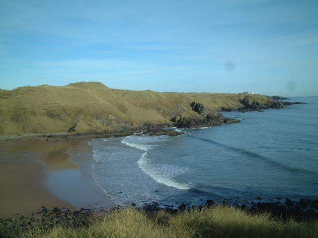 Hackley Bay from Forvie Ness