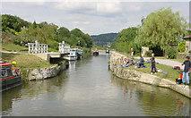 ST7865 : Holcombe Swing Bridge by Martin Clark
