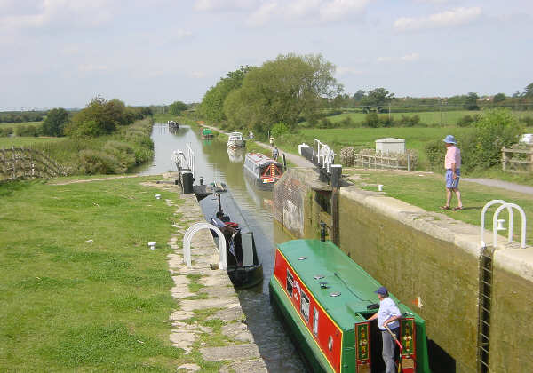 Kennet and Avon Canal near Seend Cleeve