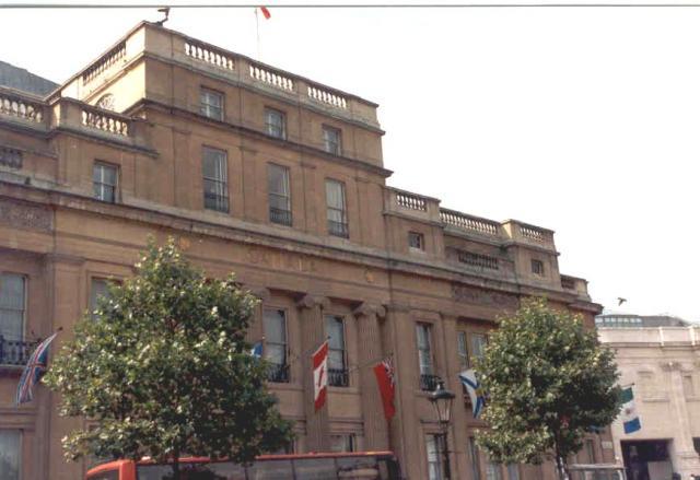 Canada House,  Trafalgar  Square
