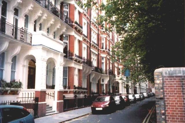 Cardinal Mansions, Morpeth Terr. London