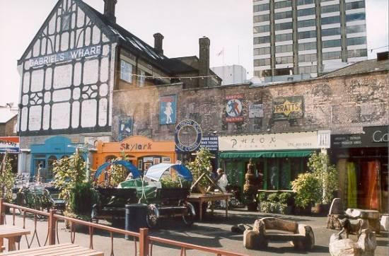 Gabriel's Wharf, Southbank, Thames
