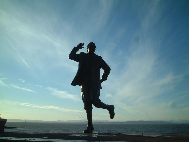 Eric Morecambe, Morecambe Bay and the Lake District hills