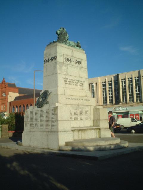 Morecambe War Memorial