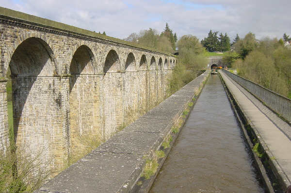 Chirk Aqueduct and Tunnel