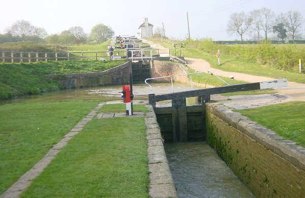Foxton Locks, Leicestershire