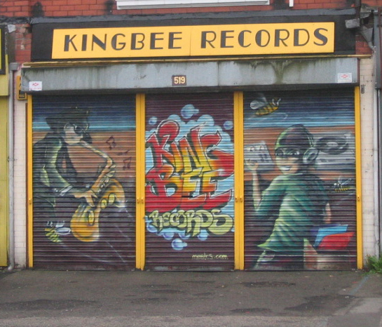 KingBee Records, Wilbraham Road, Chorlton