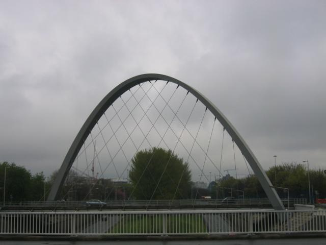 The Hulme Arch Bridge