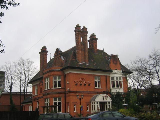 The Woodstock, Barlow Moor Road junction with Mersey Road, West Didsbury