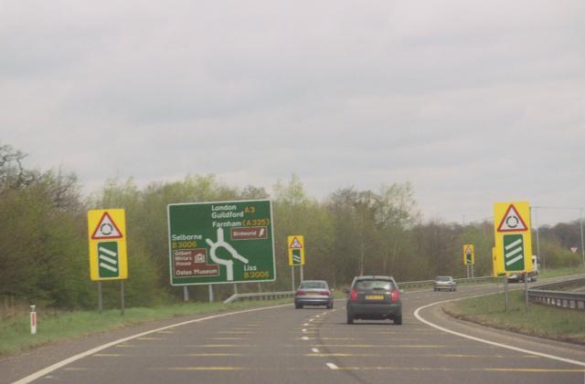 A3 & B3006 Roundabout