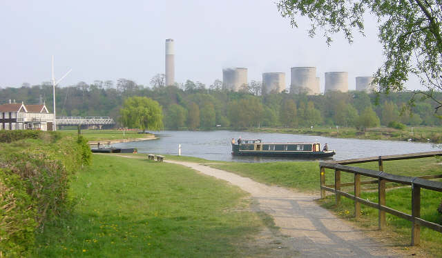 River Trent at Trent Lock