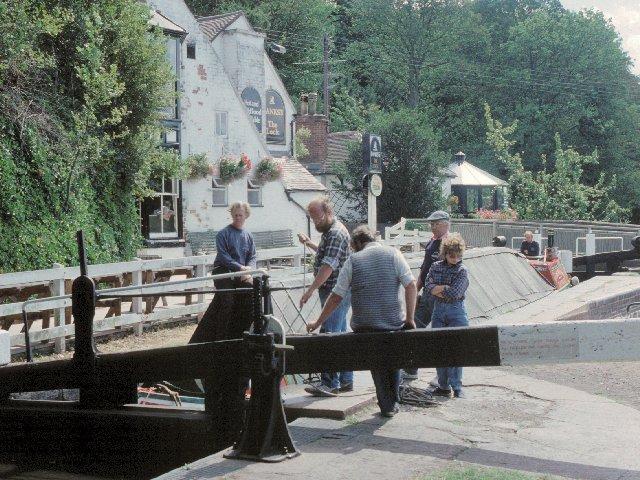 Wolverley Lock