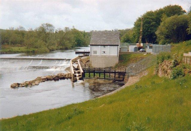 Hydro-power station, Blantyre