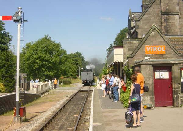Cheddleton Station