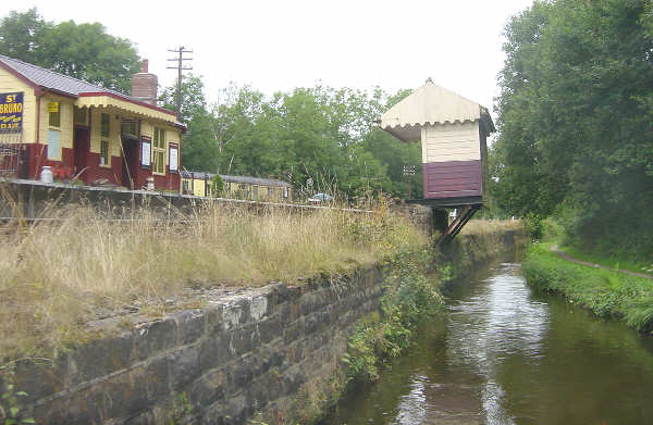 Consall Forge Station