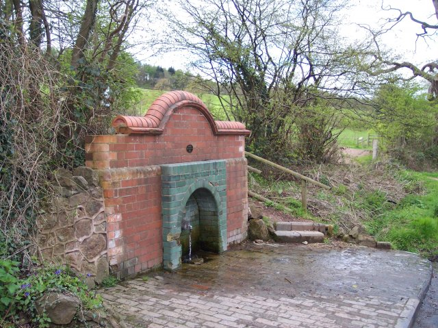 Earl Beauchamp's Fountain, Cowleigh, North Malvern