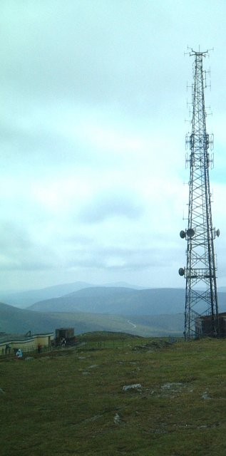 Radio Mast on Snaefell
