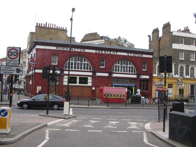 Mornington Crescent Underground Station