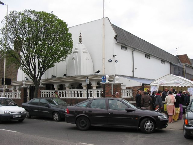 Vishwa Temple in Southall, London