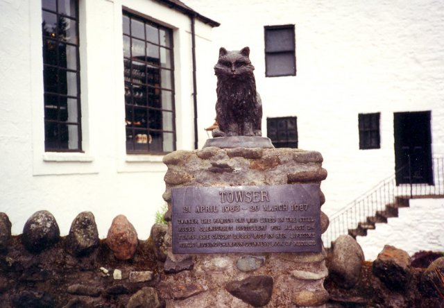 Towser Memorial, Glenturret Distillery Visitors Centre