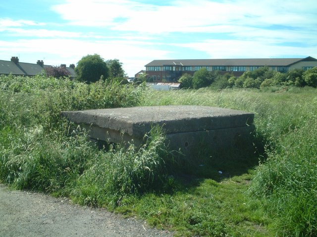 Air Raid Shelter, Back Lane, Linden Road, Northallerton