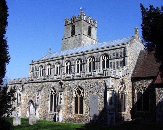 Coddenham church