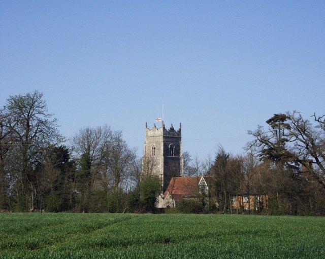 Helmingham church
