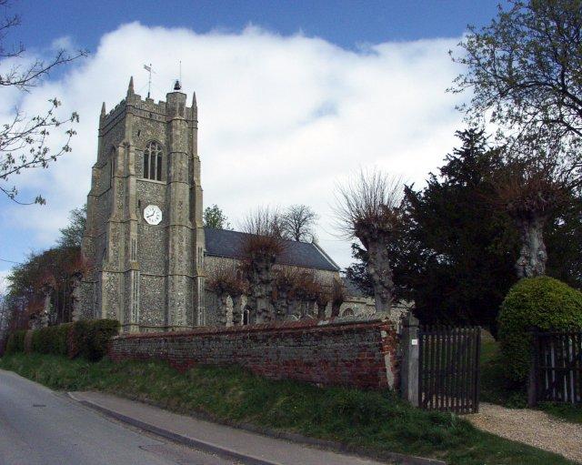 Monk's Eleigh church