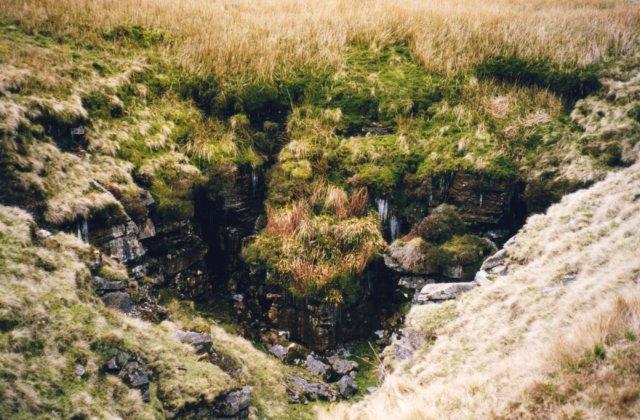 Pot Hole below Wild Boar Fell