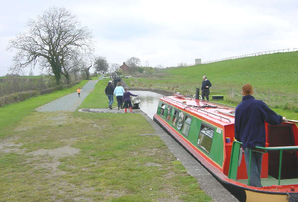 Hurleston Locks, Llangollen Canal