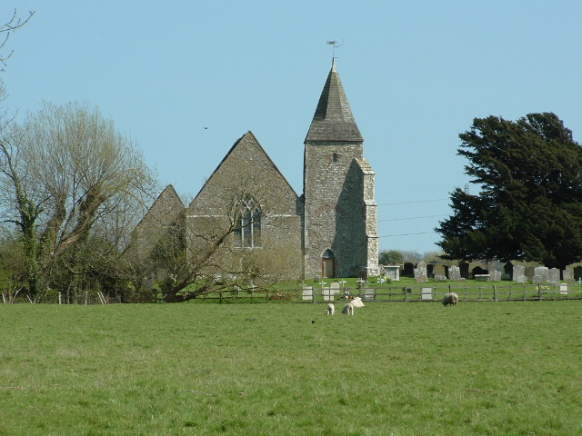 Old Romney Church, Romney Marsh, Kent