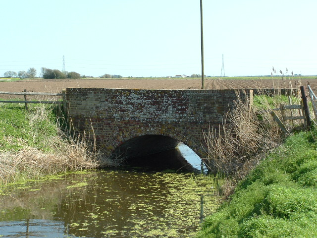 Old Romney Bridge, Romney Marsh, Kent.