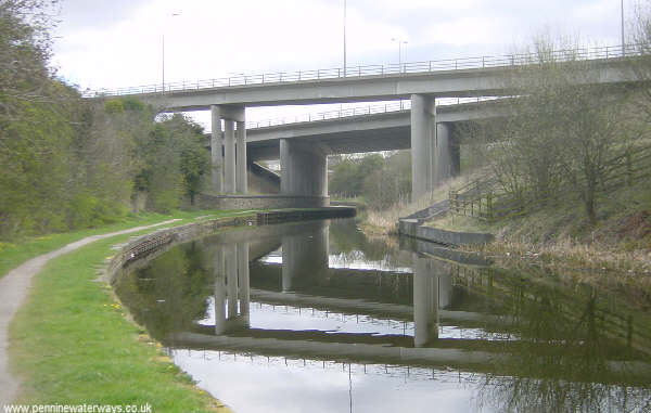 Motorway Viaducts near Burnley