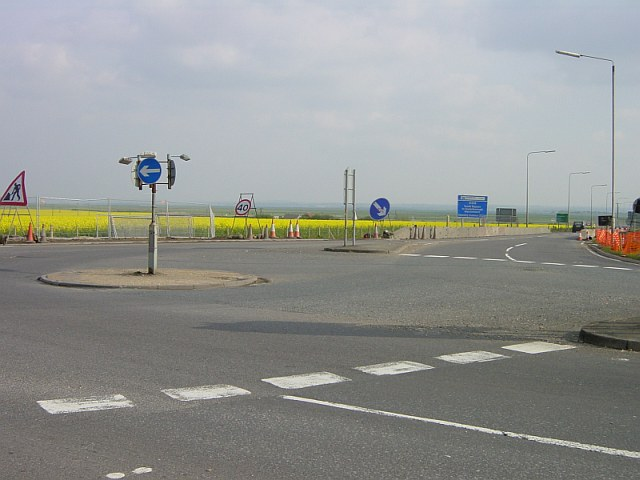 First and last roundabout on Sheppey