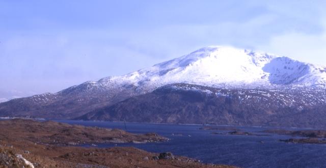 Gairich from Loch Quoich