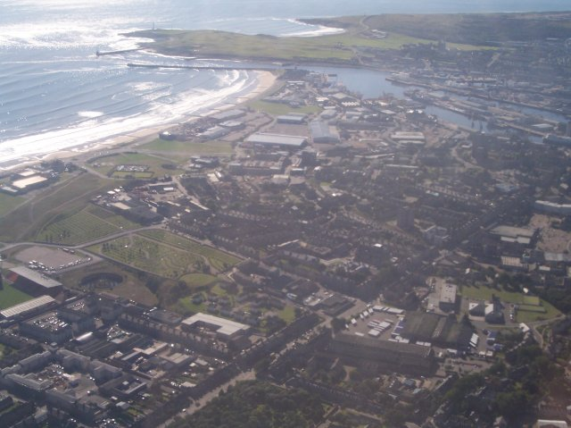 Aberdeen from above