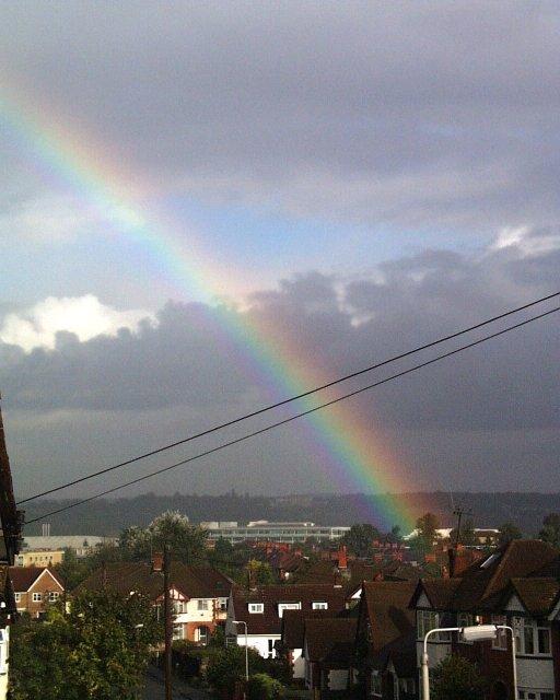 Rainbow over SU7473