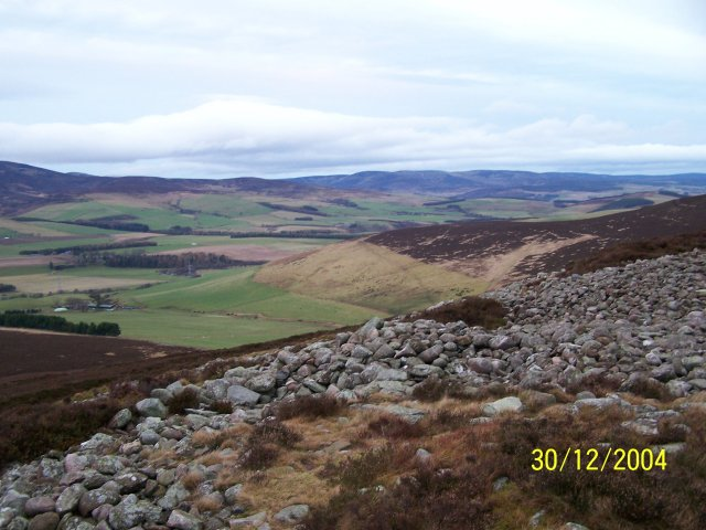 North East from White Caterthen