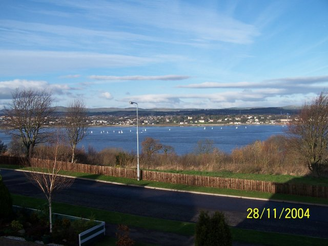 River Tay from Tayport looking north