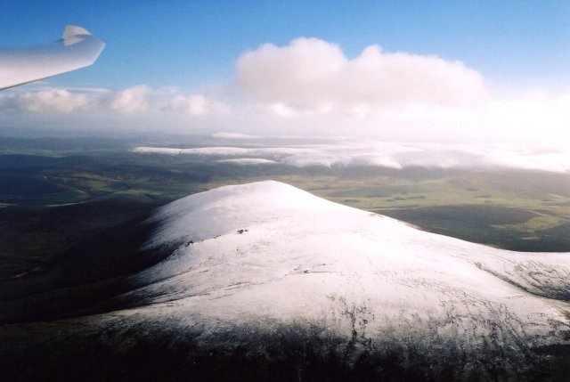 First snow on Ben Rinnes