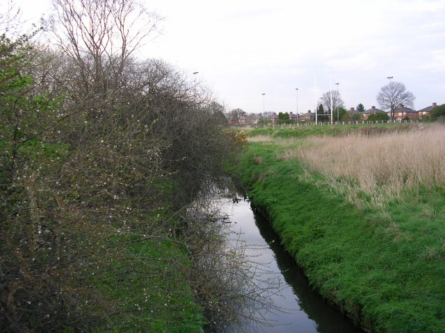 Worsley Brook at Peel Green, Eccles