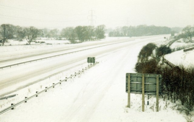Snowy M4 Junction 12