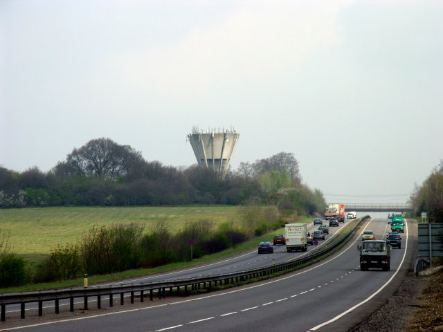 Water Tower from the A34