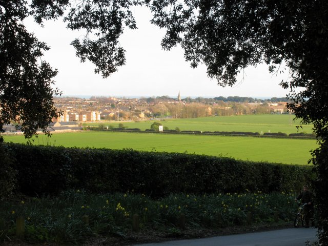 View of Durrington-on-Sea area