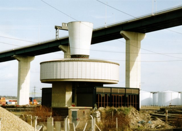 Dartford Tunnel Ventilation Shaft