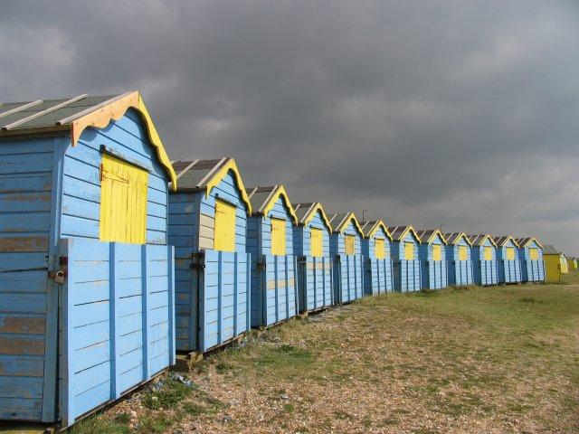 Beach Huts at Littlehampton