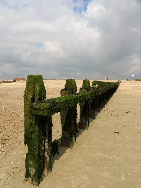 Groynes at Littlehampton