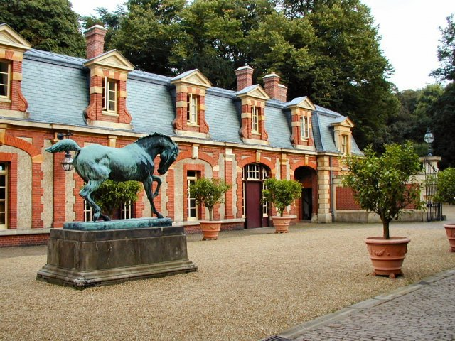 Stables at Waddesdon Manor