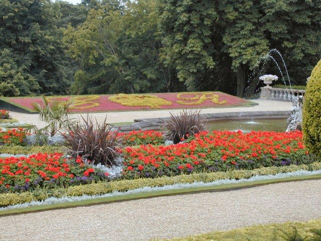 Garden at Waddesdon Manor