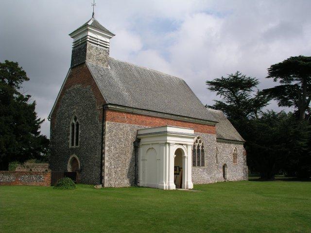 Lullingstone church